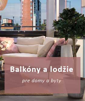 Oddelnie balkony a lodžie